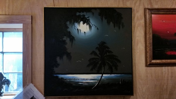 Original Florida Highwaymen Oil Paintings