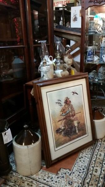 Lots of great items to decorate that country cabin or lake house